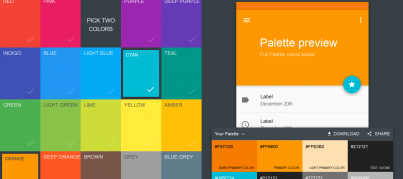 Material Palette Preview