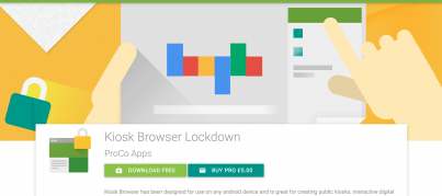 android kiosk browser