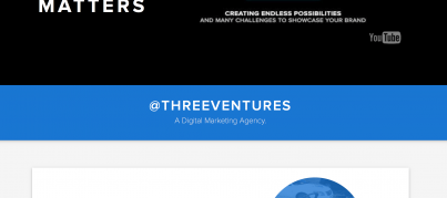 material design three ventures
