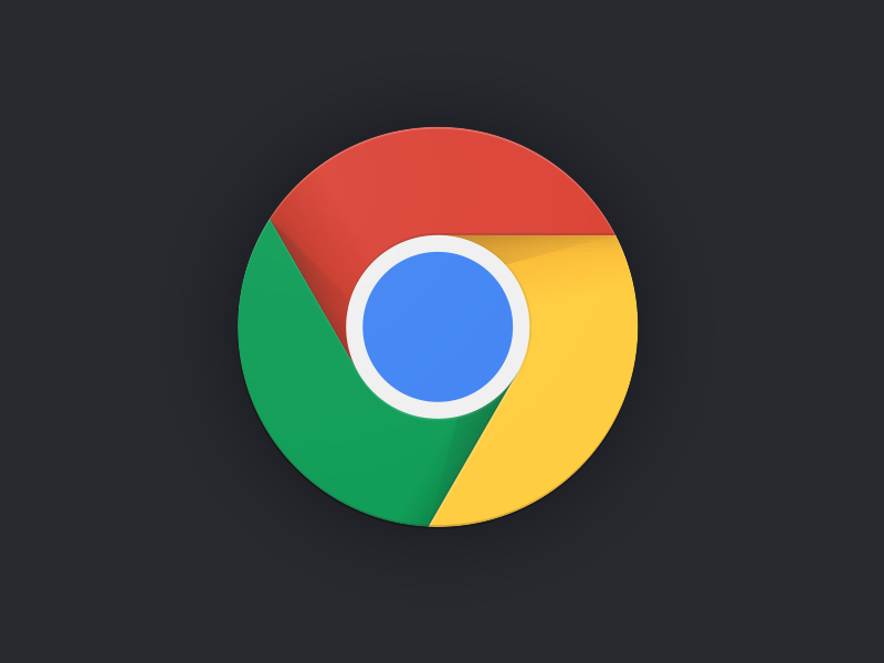 Chrome logo concept by Google designer  Sebastien Gabriel