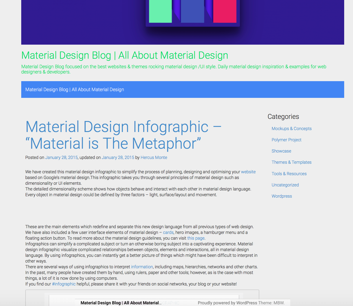 Material Bootstrap Theme