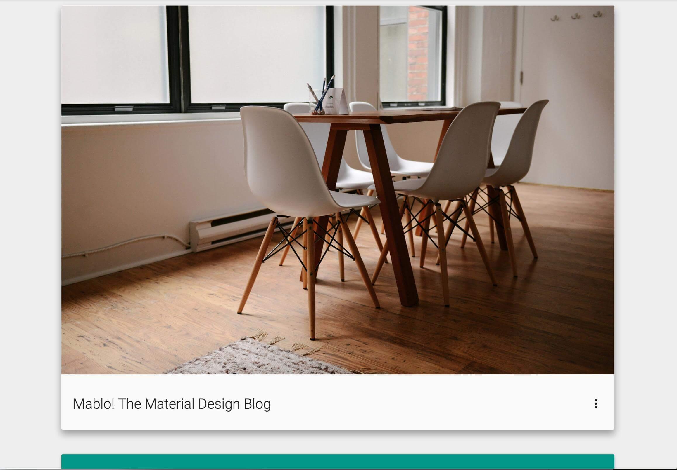 Marlo-Material-Design-blogging-platform