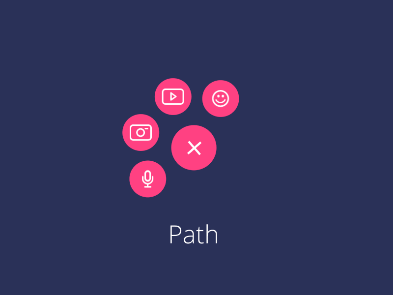 Awesome CSS codepen to enhance Material Design FAB button