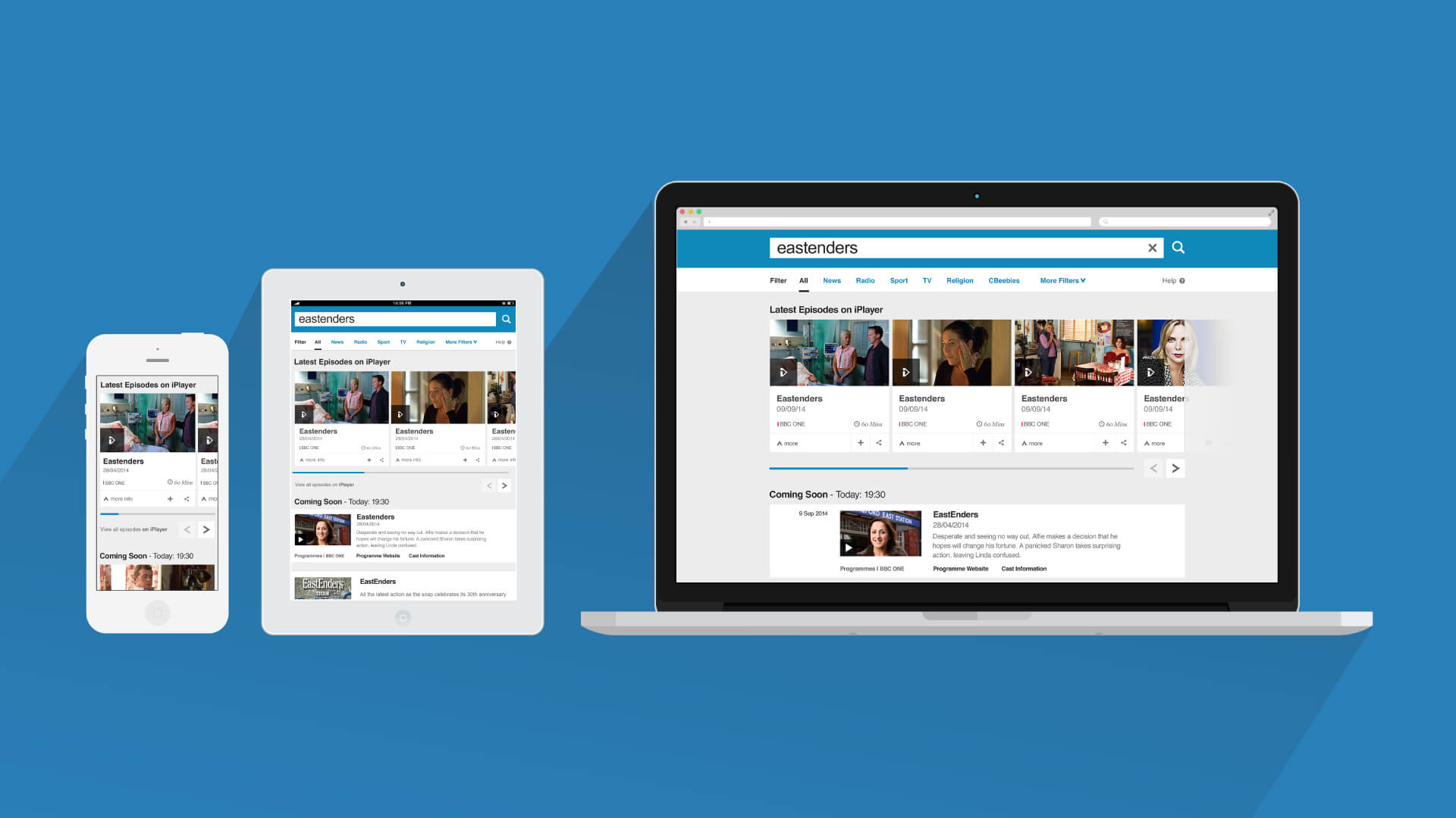 Bbc Search Cards Tweaked With Material Design