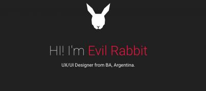 evilrabbit- portfolio