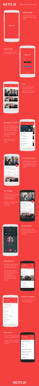 material-design-Netflix
