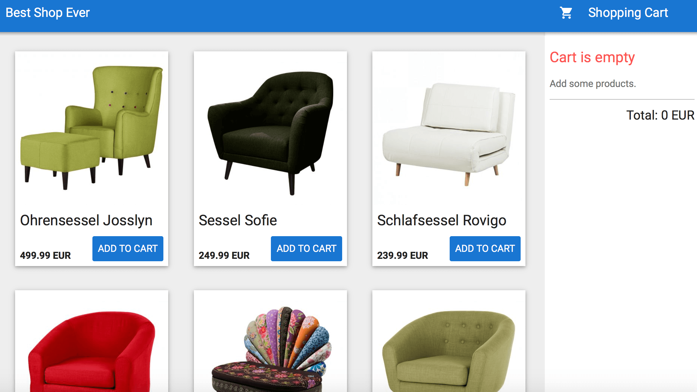 shop-material-design-web-application