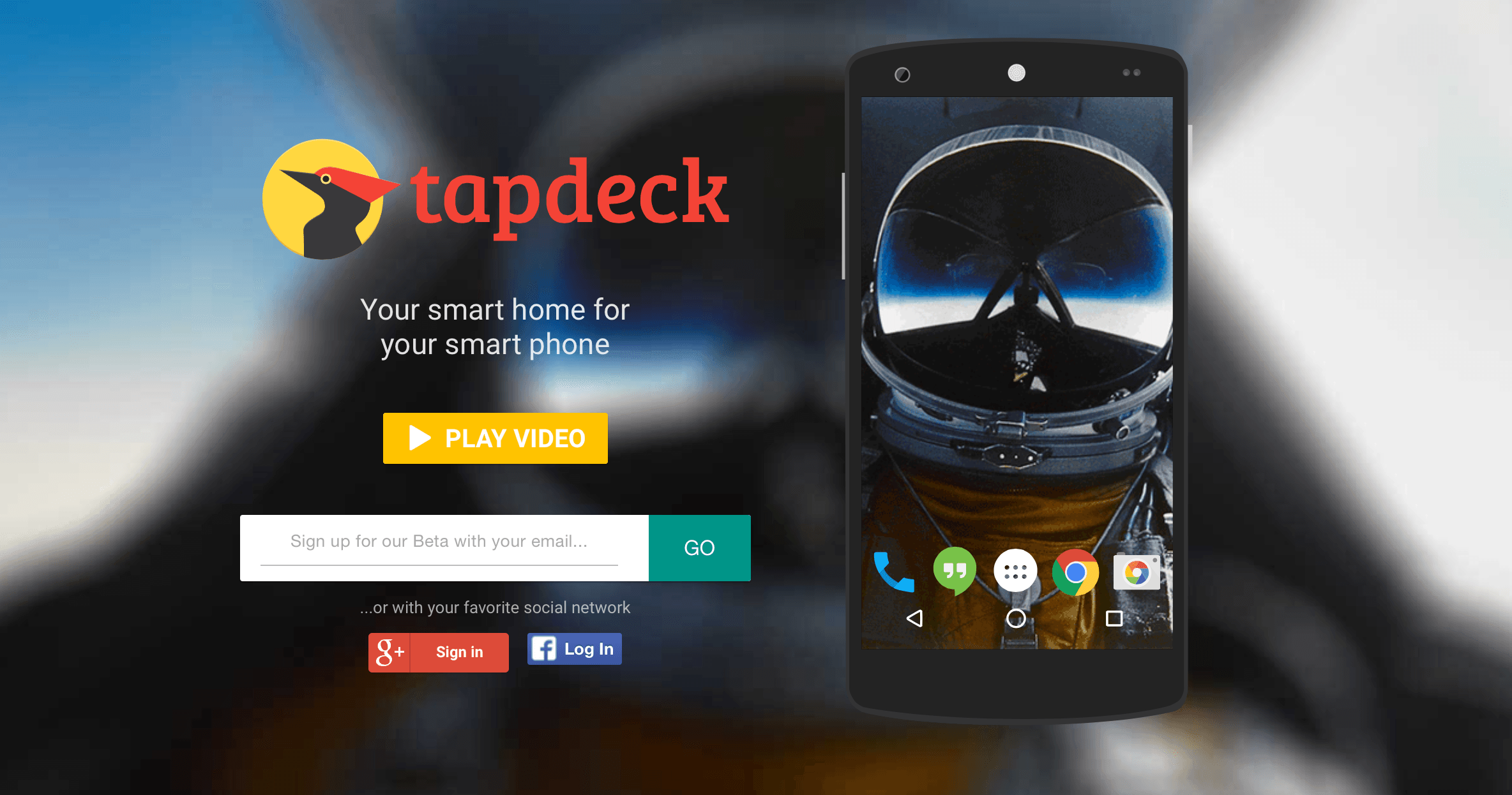 tapdeck a smart wallpaper discovery app for android