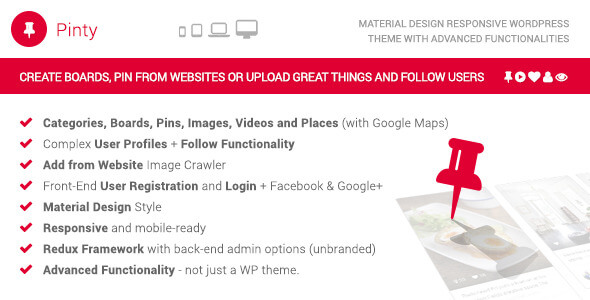 linty-material-design-wordpress