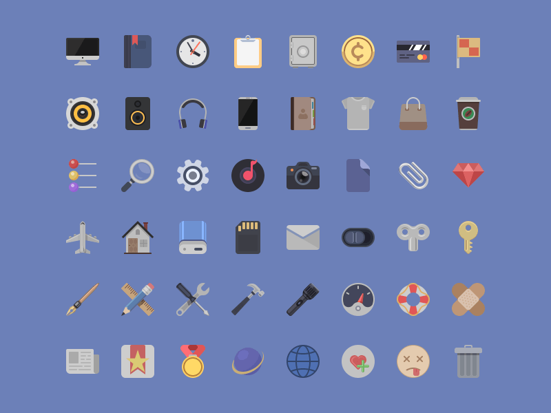 10 sets of free material design icons for web designers and developers