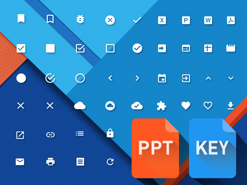 powerpoint-keynote-material-design-icons