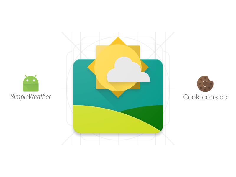 simpleweather-material-design-app