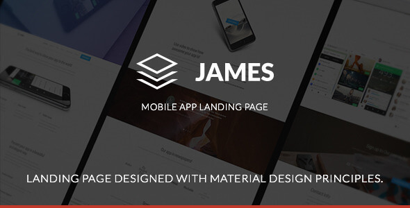 james-material-design-page