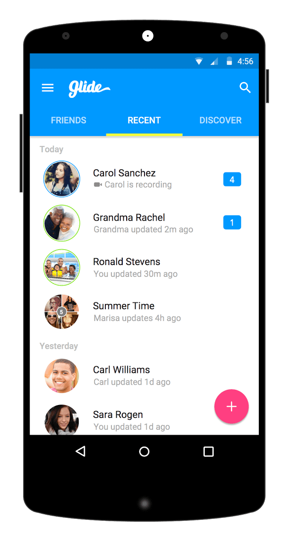 glide-video-messaging-app-material-design