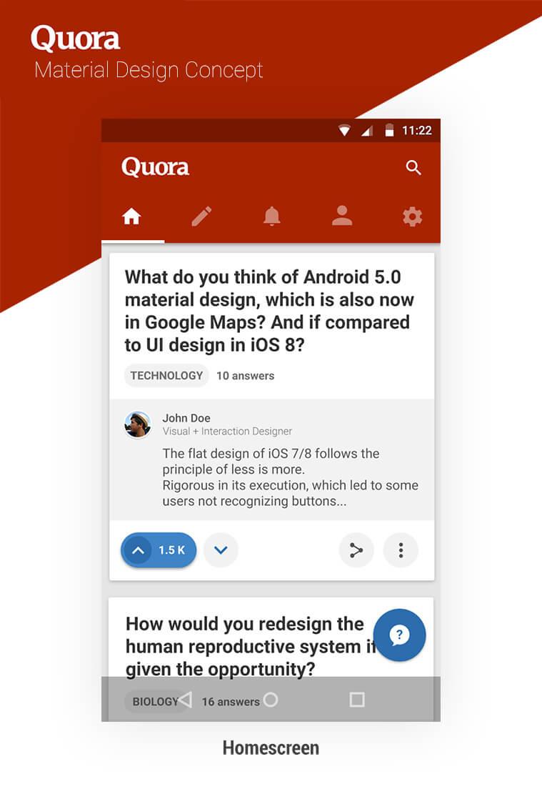 Quora_Concept_-_Homescreen