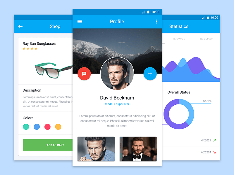 material-design-ui-freebie-kit