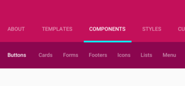material-design-css-library