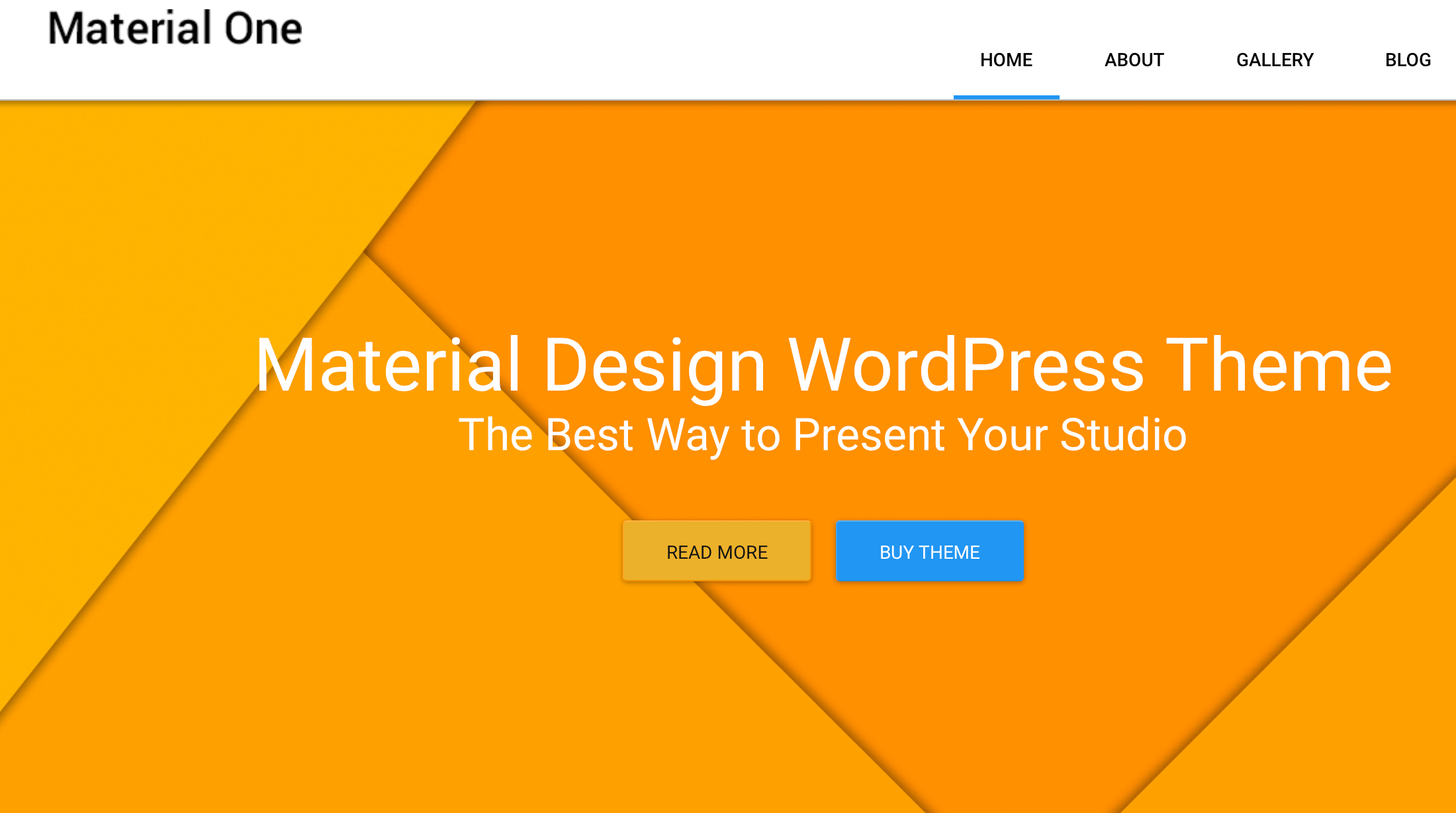 material-wordpress-theme-material-one