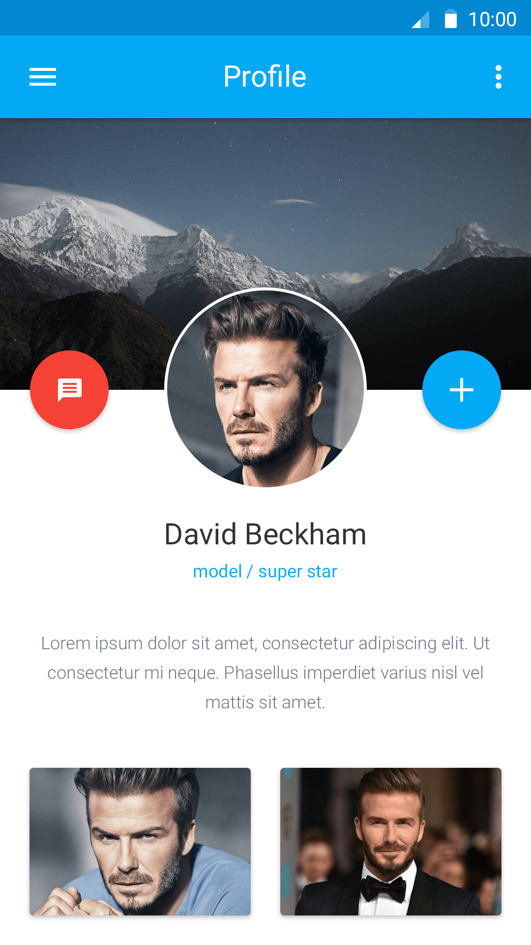 profile-free-material-design-ui-kit