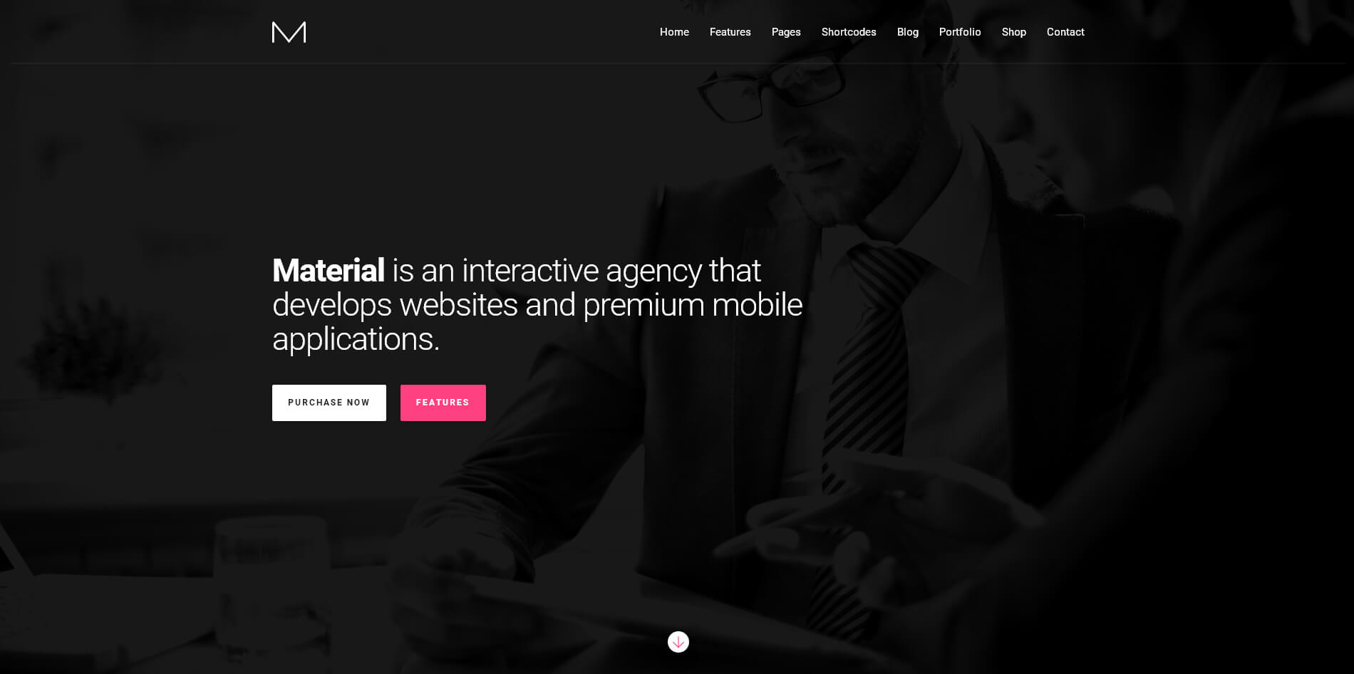 material-business-wordpress-theme