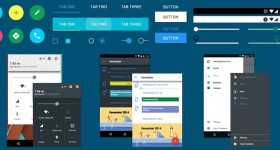 Android Material Design Ui Kit Download Free Psd Featured1