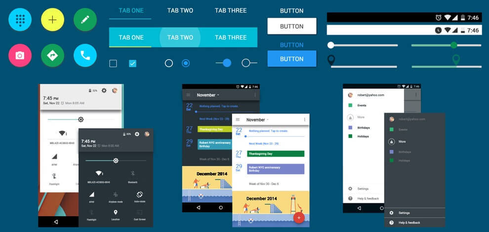 Android Material Design Ui Kit Free Download