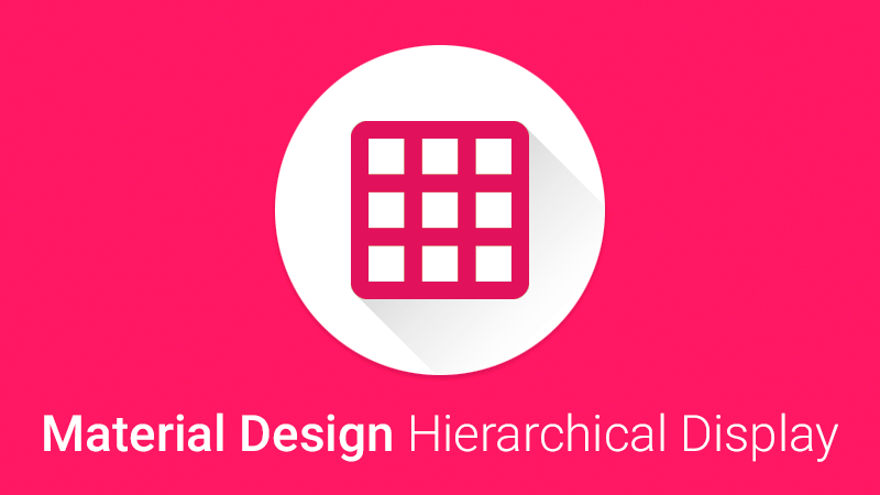 md-hierarchical-display
