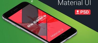 realEstate lollipop app UI