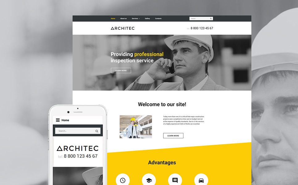 Architec Website Template