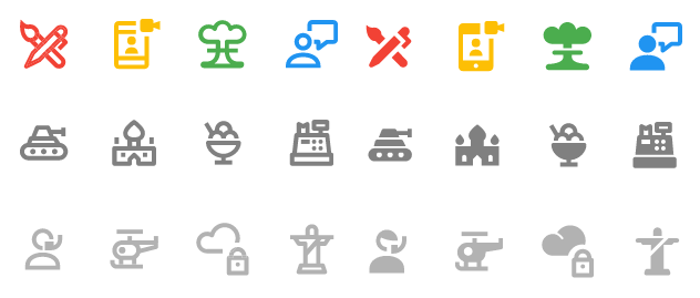 NOVA Material Design Icon Set