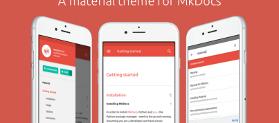 A material design theme for MkDocs