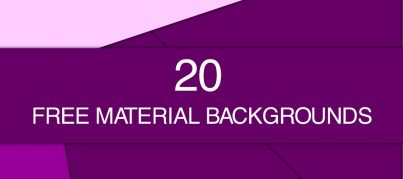 20 free material backgrounds