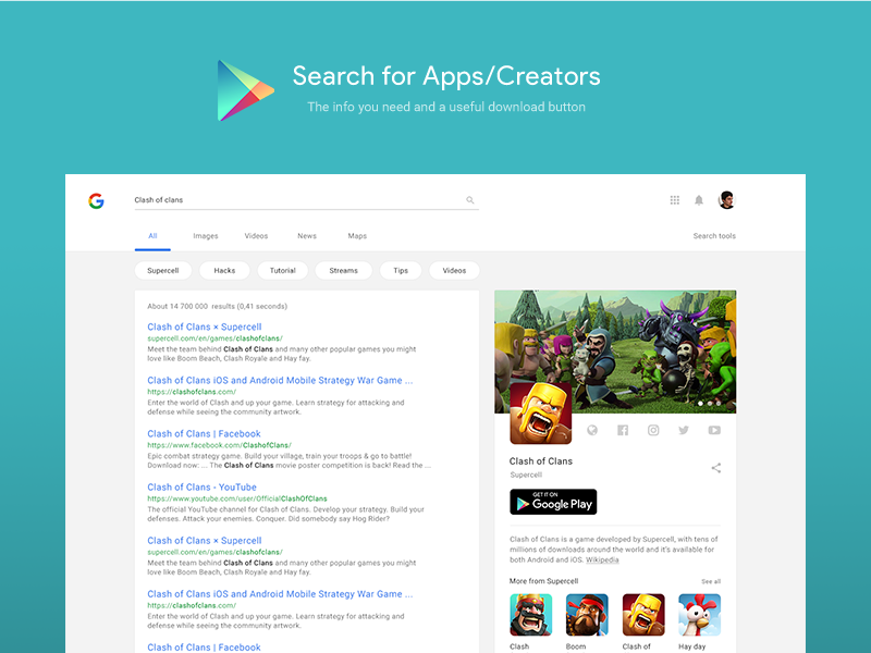 Google Search Material Design Concept/Case Study